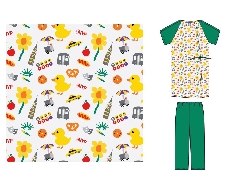 Deborah Adler Design | Medline Pediatric Gowns